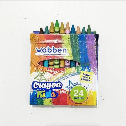 Crayones x24 unidades Wabben art 9071