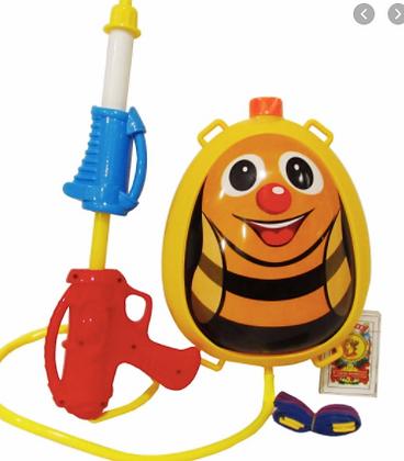 Mochila lanza agua abeja Sebigus art 61041