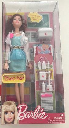 Muñeca tipo Barbie doctora TR
