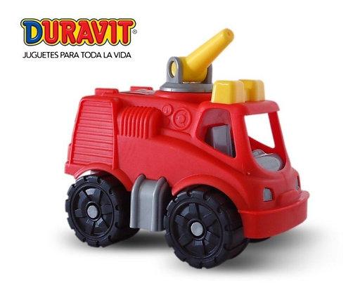 Camioncito bombero Duravit 16x11x9,5cm art 364