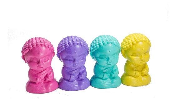 Buda color pastel  10cm Cliker