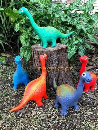 Mini dinosaurio de goma  26 cm Cabadin art 010