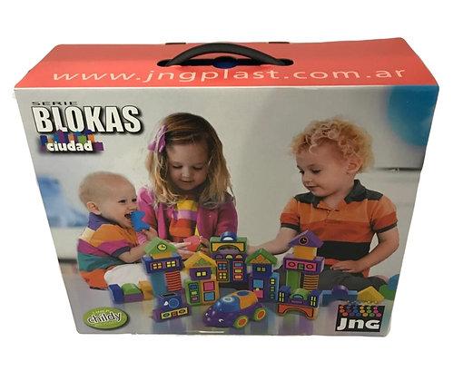 Blokas 1 copete Ciudad 30 piezas JNG art 12517