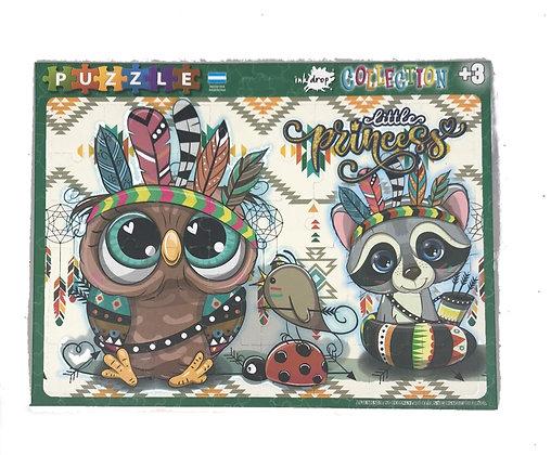 Rompecabezas 48 piezas Animales Bebe Inkdrop
