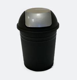 Resipiente de residuos 8 litros tapa vai ven34cm alto 23cm ancho Colores art 301