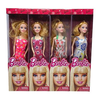 Muñeca barbie 32cm articulada TR JU-2013