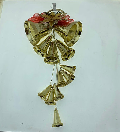 Adorno racimo de campanas 40cm Soifer