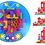 Thumbnail: MultiBlokas Juego de bloques x 45 c/mesita JNG art 12530