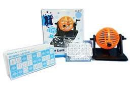 Bingo automatico 90 bolillas 12 cartones Graffity art 1366144