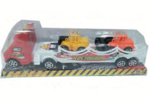 Camion con acoplado a friccion 29x20x5cm  Sebigus art 50221