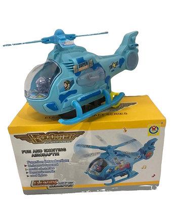 Helicoptero a pila con movimiento luz y sonido art 2268 Athand
