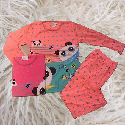 Pijama importado mujer/juvenil Panda Athand