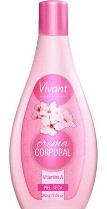Crema rosa Vivant piel seca 250ml Iyosei