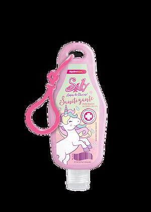 Alcohol en gel Unicornio para mochila y cartera original 60ml Algabo