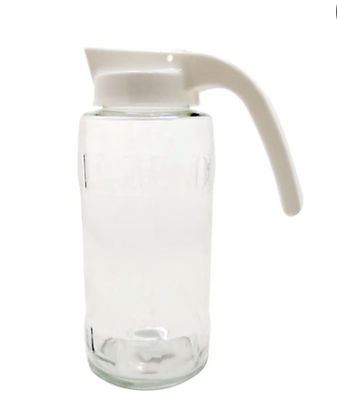 Jarra de vidrio manija plastica Cuyana 1200ml Durax