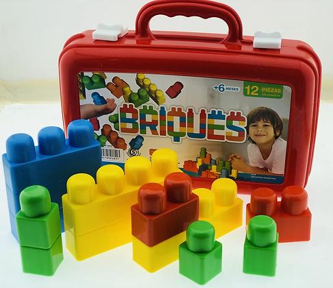 Valija con bloques Irv Toys
