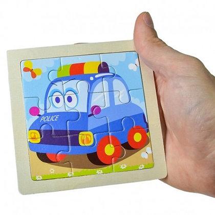 Puzzles de madera 10x10cm Pumy art 53470