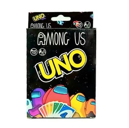 Juego de cartas Uno Among Us