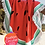 Thumbnail: Toallon redondo secado rapido con flecos 160cm TR
