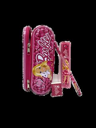 Canopla metal c/cierre + accesorios barbie