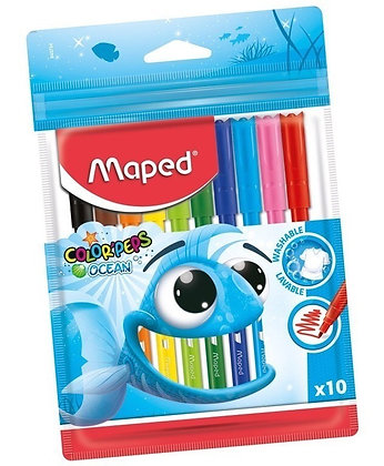 Marcadores x 10 Maped Ocean