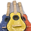 Thumbnail: Guitarra de madera chica 40cm