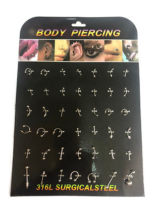 Aro piercing en plancha Boaz art 848-13