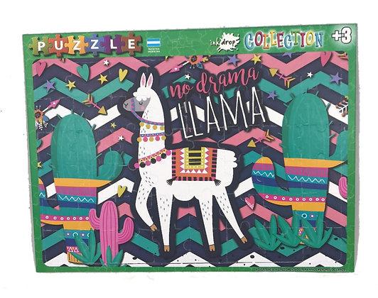 Rompecabezas 48 piezas Llama Inkdrop