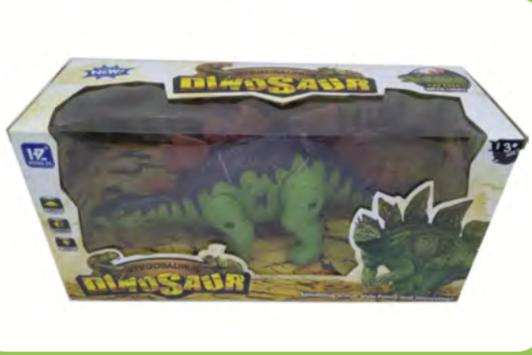 Super Dinosaurio a pila con luz y sonido  Sebigus art 50403