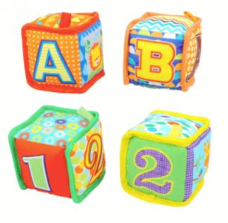 Cubo sonajero 9cm Woody Toys art 55297
