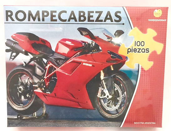 Rompecabeza 100 piezas Motos YUYU