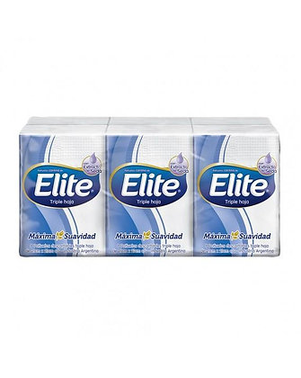 Panuelos Elite Mini Pocket x 6 unidades