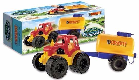 Tractor tambero Duravit art 219