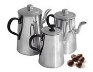 Cafetera de aluminio 3/4lts Almandoz
