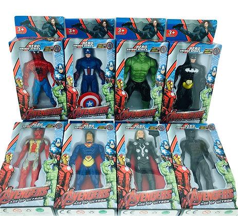 Muñeco Avengers con luz 14cm TR 1722