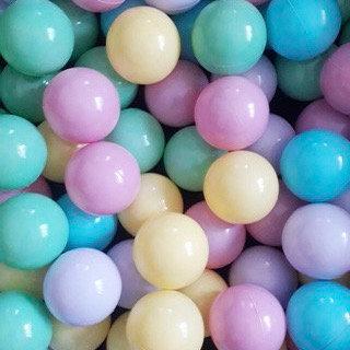 Pelota para pelotero colores pastel Julia