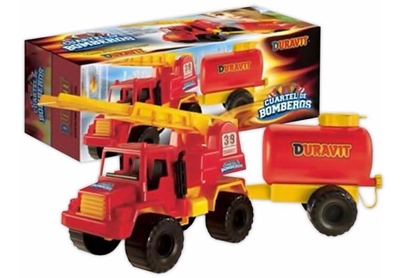 Camion cuartel de bomberos Duravit 55x20x17cm art 650