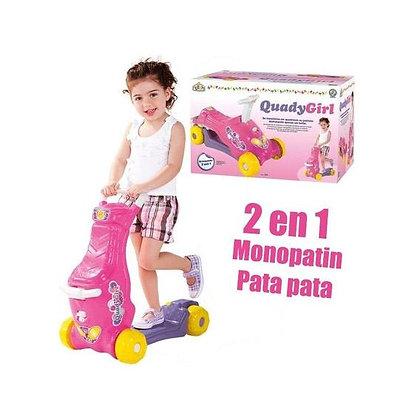 Monopatin andador QuadyGirls Calesita