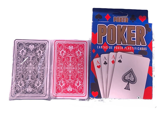 Naipes de Póker x 2 mazos