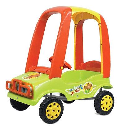 Auto a pedal con techo Kuma Kids
