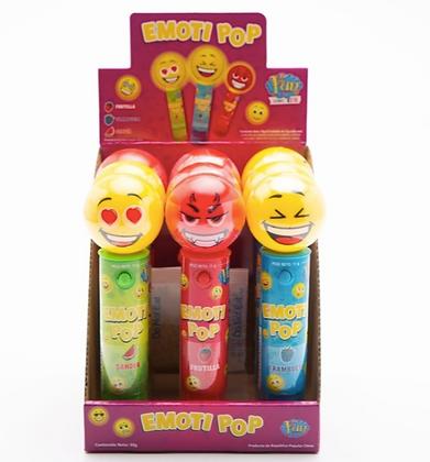 Pastillero con luz y  pastillas Emoti POP Fun