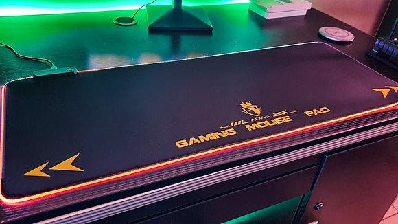 Mouse Pad Gamer retroiluminado RGB 80x30x0,4cm Aoas S4000 TR EL-3369
