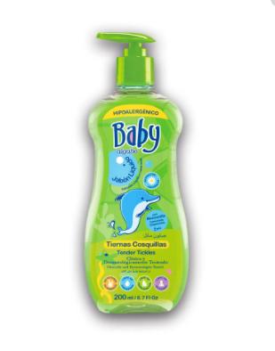 Jabon liquido Baby 200ml c/valvula Algabo art 3863002