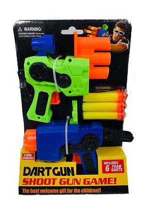 Pistola lanza dardos x 2 POKA art SD21823