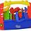 Thumbnail: Caja de herramientas con herramientas Rivaplast 30x16,5x23cm art 456