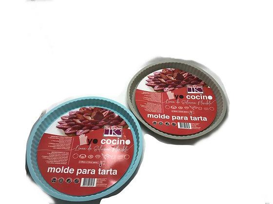 Molde para tarta red 30x3,5cm silicona lujo Soifer