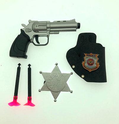 Pistola lanza dardos chica c/accesorios