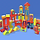 Thumbnail: Blokas 45 piezas Zoo JNG art 12516