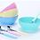 Thumbnail: Juego de 8 piezas vidrio color Soft Carol art 4038