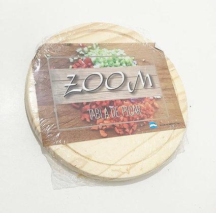 Plato de asado madera 24x1,5cm Zoom